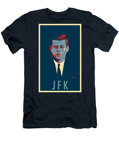 J F K In Hope Men's T-Shirt (Athletic Fit)