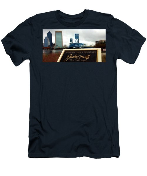 Men's T-Shirt (Athletic Fit) featuring the photograph Jacksonville by Tyson Kinnison