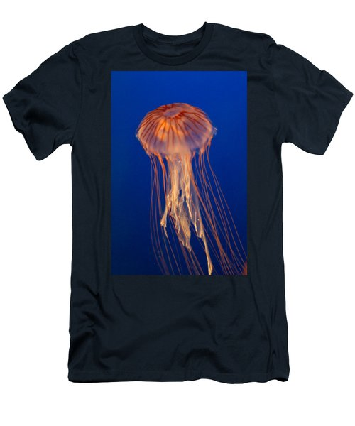 Men's T-Shirt (Slim Fit) featuring the photograph Jelly Fish by Eti Reid