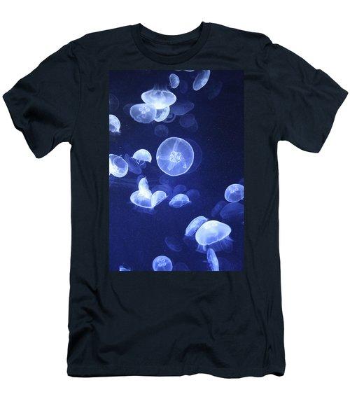 Jellyfish At Loceanographic Aquarium Men's T-Shirt (Athletic Fit)