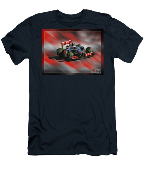 Jenson Button  Men's T-Shirt (Athletic Fit)