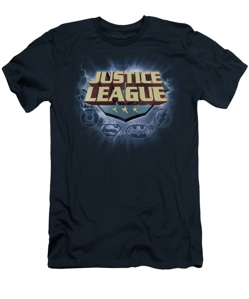 Jla - Storm Logo Men's T-Shirt (Athletic Fit)