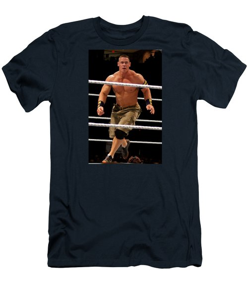John Cena In Action Men's T-Shirt (Athletic Fit)