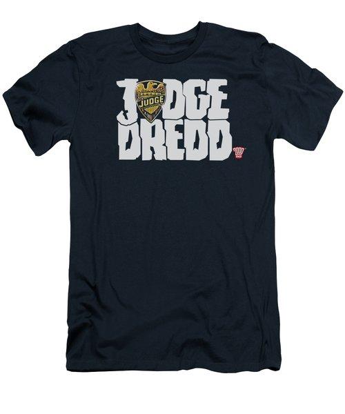Judge Dredd - Logo Men's T-Shirt (Athletic Fit)