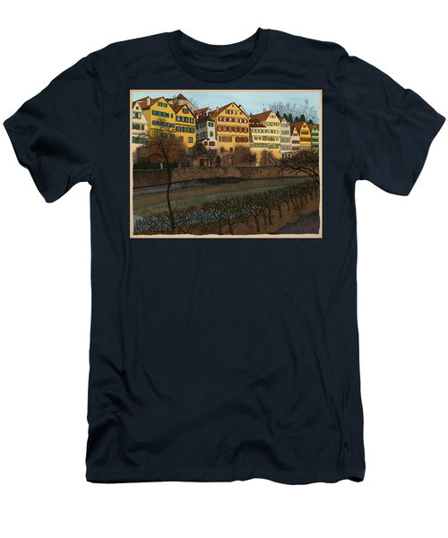 Judith's Walk Men's T-Shirt (Slim Fit) by Meg Shearer