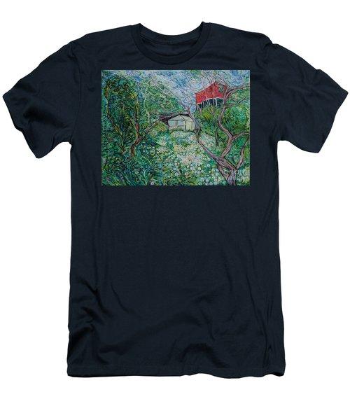 June Men's T-Shirt (Slim Fit) by Anna Yurasovsky