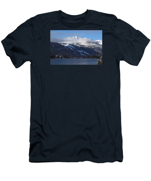 June Lake Winter Men's T-Shirt (Slim Fit) by Duncan Selby