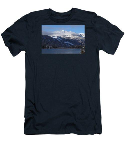 June Lake Winter Men's T-Shirt (Athletic Fit)