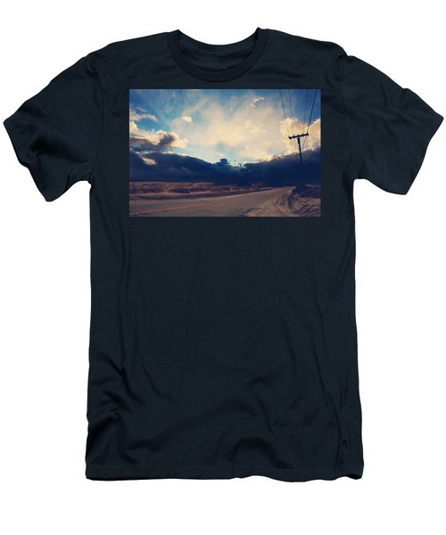 Just Down The Road Men's T-Shirt (Athletic Fit)