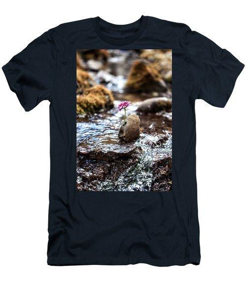 Just Let Your Love Flow Men's T-Shirt (Athletic Fit)