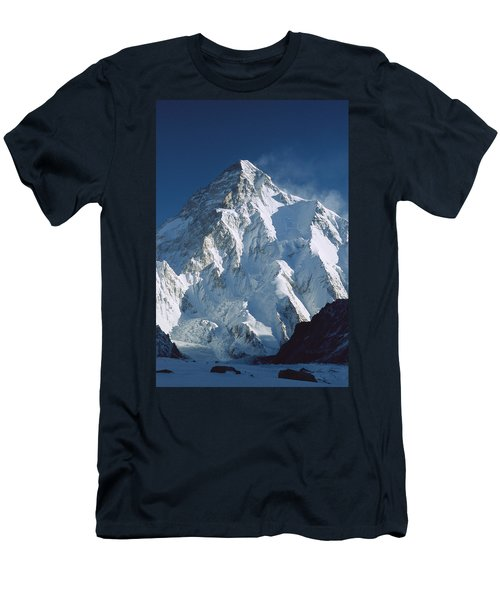 Men's T-Shirt (Athletic Fit) featuring the photograph K2 At Dawn Pakistan by Colin Monteath