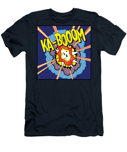 Ka-boom 2 Men's T-Shirt (Athletic Fit)