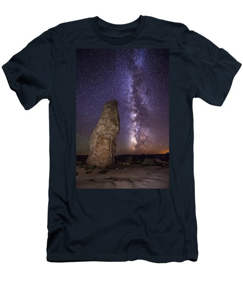 Men's T-Shirt (Athletic Fit) featuring the photograph Kodachrome Galaxy by Dustin  LeFevre