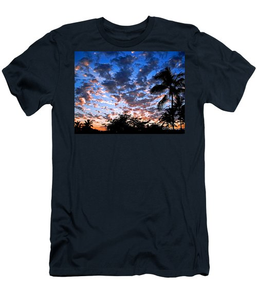 Kona Sunset Men's T-Shirt (Slim Fit) by David Lawson