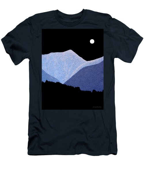 Kootenay Mountains Men's T-Shirt (Slim Fit) by Janice Dunbar