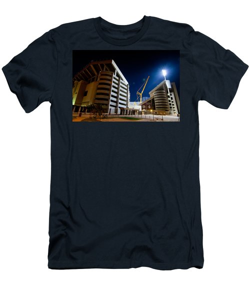 Kyle Field Construction Men's T-Shirt (Slim Fit) by Linda Unger