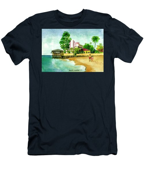 La Playa Hotel Isla Verde Puerto Rico Men's T-Shirt (Athletic Fit)
