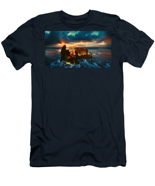 Lady Of The Ocean Men's T-Shirt (Athletic Fit)