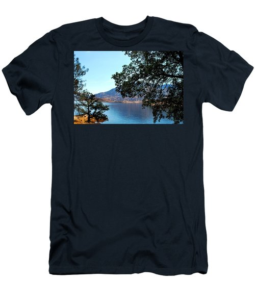 Lake Isabella Men's T-Shirt (Slim Fit) by Matt Harang
