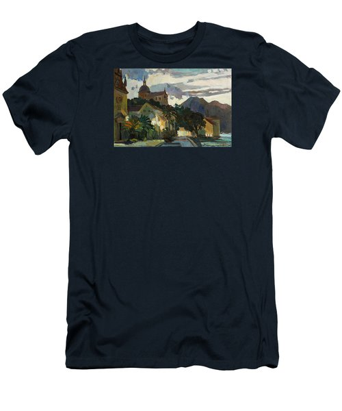 Late Evening In The Prcanj Men's T-Shirt (Athletic Fit)