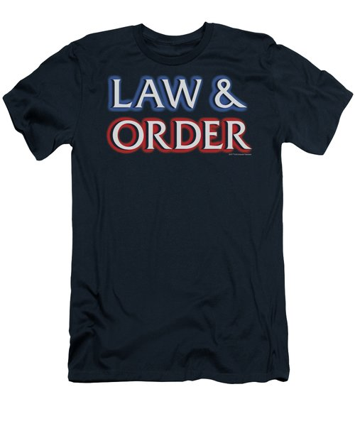 Law And Order - Logo Men's T-Shirt (Athletic Fit)