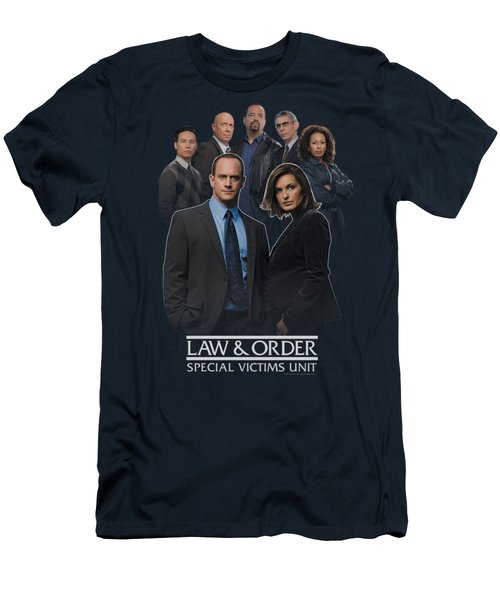 Law And Order Svu - Team Men's T-Shirt (Athletic Fit)