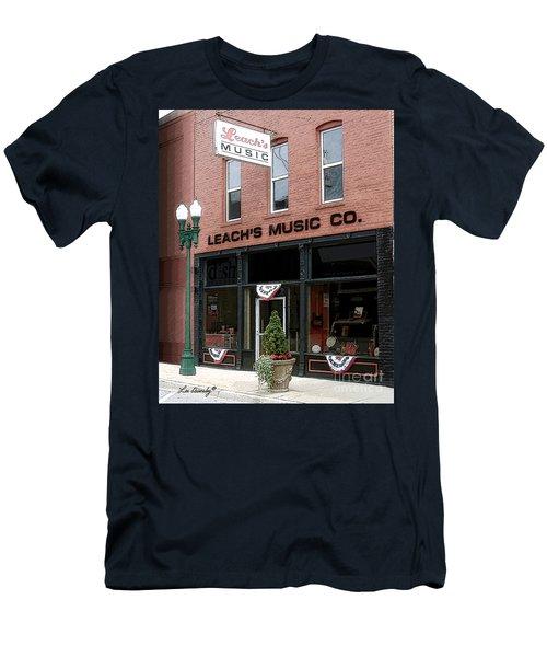 Leach's Music Men's T-Shirt (Athletic Fit)