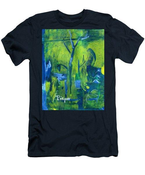 Lemon Willow Men's T-Shirt (Athletic Fit)
