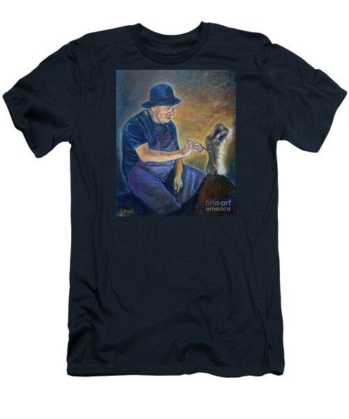 Figurative Painting Men's T-Shirt (Athletic Fit)