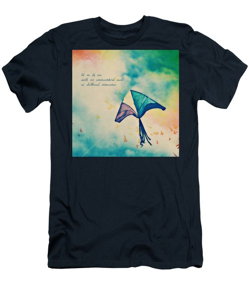Let Me Fly Free Men's T-Shirt (Athletic Fit)