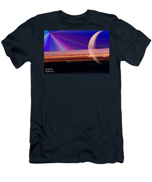 Light And Planet Men's T-Shirt (Athletic Fit)