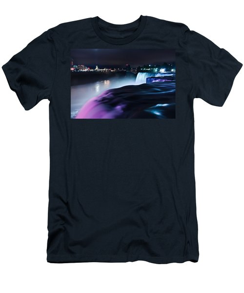 Light Show Men's T-Shirt (Slim Fit) by Mihai Andritoiu