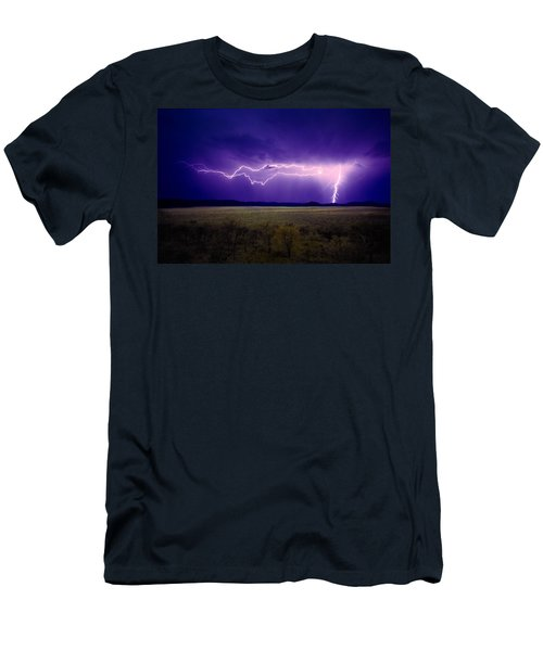 Lightning Serengeti Men's T-Shirt (Athletic Fit)