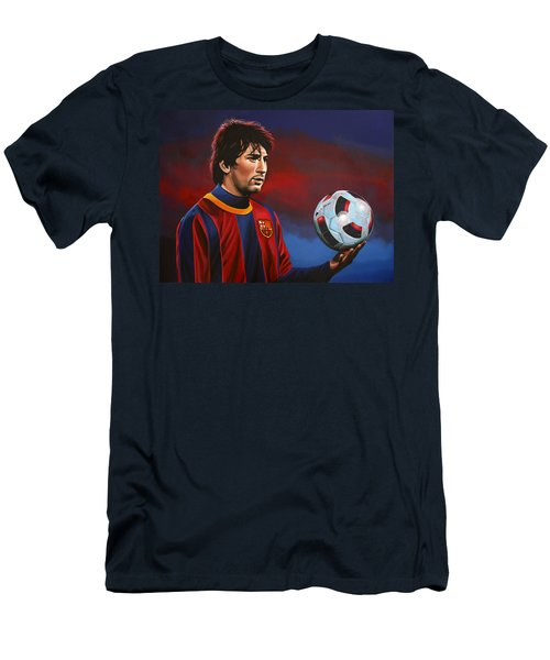 Lionel Messi 2 Men's T-Shirt (Athletic Fit)