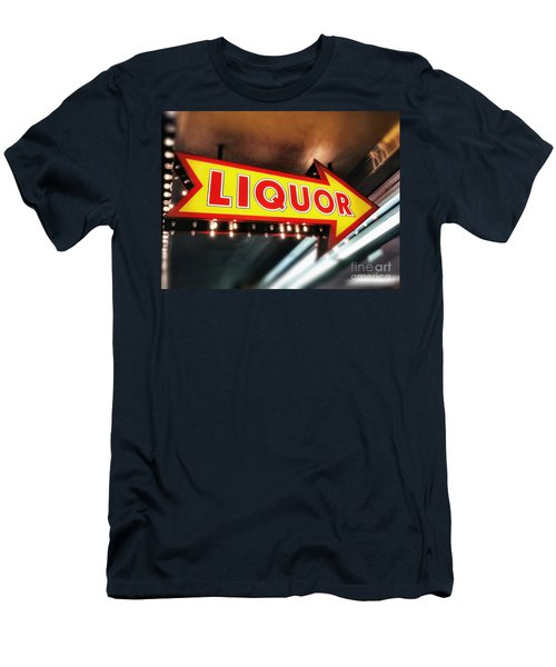 Liquor Store Sign Men's T-Shirt (Athletic Fit)