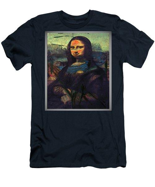 Lisa Munch Scream  Men's T-Shirt (Athletic Fit)