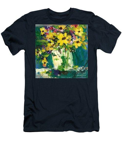 Little Daisies Men's T-Shirt (Athletic Fit)