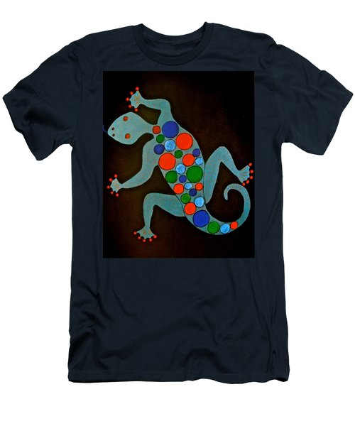 Lizard Men's T-Shirt (Slim Fit) by Stephanie Moore