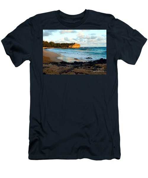 Local Surf Spot Kauai Men's T-Shirt (Athletic Fit)