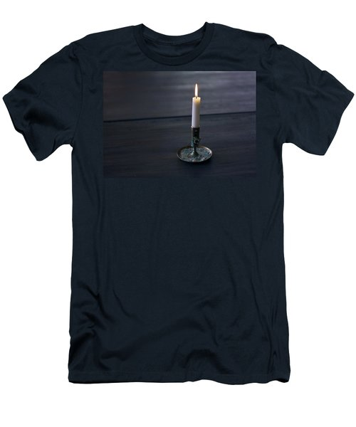 Lonely Candle Men's T-Shirt (Athletic Fit)
