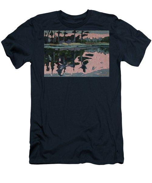 Long Reach Rain Men's T-Shirt (Slim Fit) by Phil Chadwick