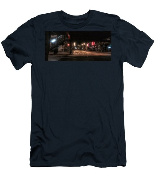Looking East From Wabash Men's T-Shirt (Athletic Fit)