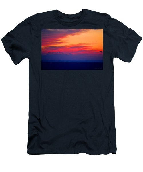 Lookout Mountain Sunset Men's T-Shirt (Athletic Fit)