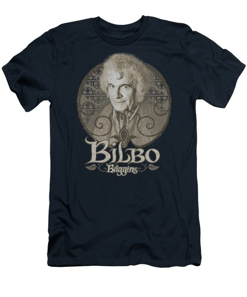 Lor - Bilbo Baggins Men's T-Shirt (Athletic Fit)