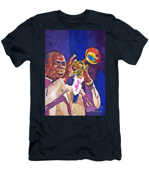 Louis Satchmo Armstrong Men's T-Shirt (Athletic Fit)