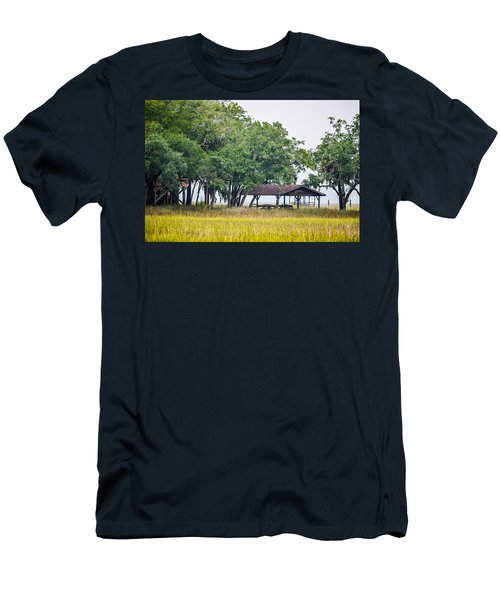 Lowland Picnic Place  Men's T-Shirt (Athletic Fit)