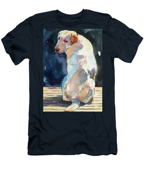 Lucy Moon Men's T-Shirt (Slim Fit) by Molly Poole