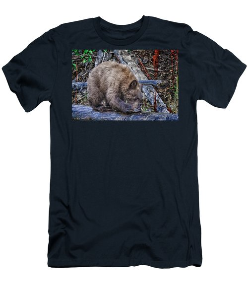 Men's T-Shirt (Slim Fit) featuring the photograph Lunch Break by Jim Thompson