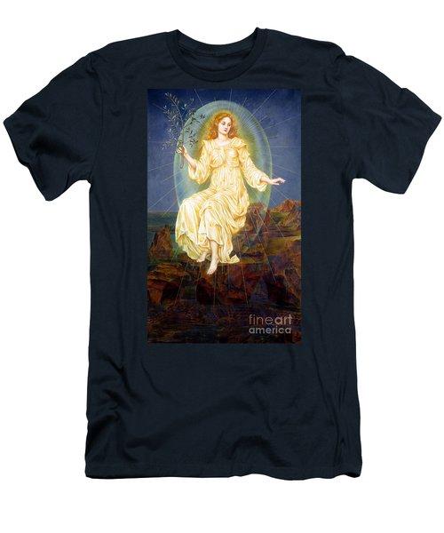Lux In Tenebris Men's T-Shirt (Athletic Fit)