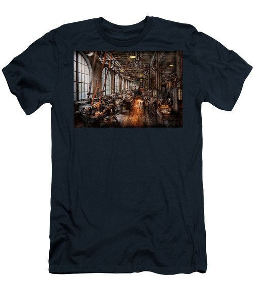 Machinist - A Fully Functioning Machine Shop  Men's T-Shirt (Athletic Fit)